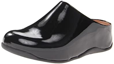 Fitflop Shuv Patent Shoes - Black