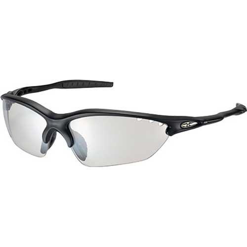OGK KABUTO(オージーケーカブト) ビナートX フォトクロミック [マットブラック] クリア調光レンズ サイクルスポーツアイウェア Binato-X Photochromic