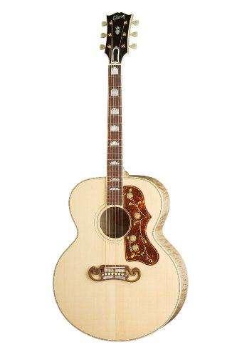 Gibson J-200 Standard Acoustic-Electric Guitar, Antique Natural