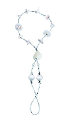 Lillian Rose Seashell Beaded Foot Jewelry, Set