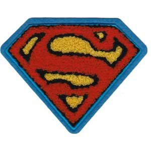 Application Superman Chenille Logo Patch