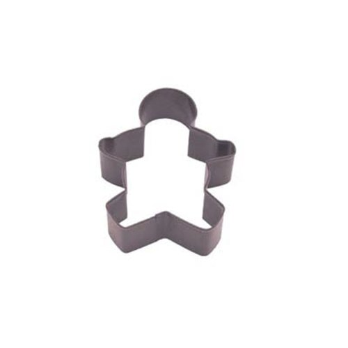 Dress My Cupcake DMC41CC1107/Z Gingerbread Boy Cookie Cutter, 3.5-Inch, Brown