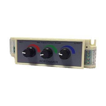 miniwatts 12v 24v rgb interrupteur variateur rotatif. Black Bedroom Furniture Sets. Home Design Ideas