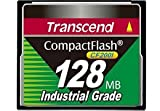 Transcend CF200I Industrial Grade CompactFlash Memory Card 128 MB