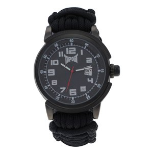 TapouT Fighter Paracord Black Watch NEW In A