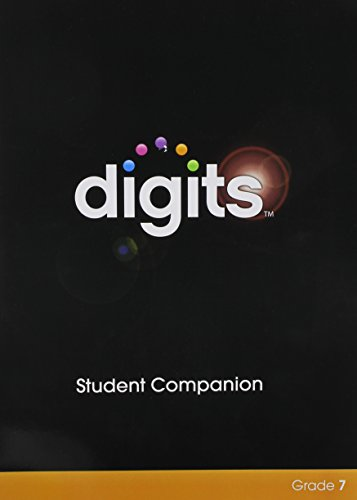 DIGITS ENHANCED STUDENT COMPANION GRADE 7 PDF