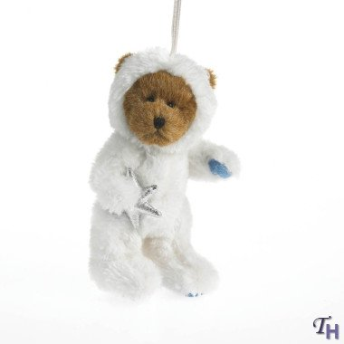 Enesco Boyd's Plush Bumble Ornament, 6-Inch
