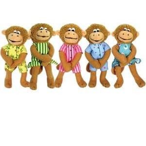 Five Little Monkeys Playset by Eileen Christelow 5""