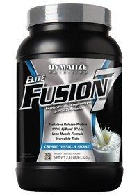 Dymatize Nutrition, Elite Fusion 7 Creamy Vanilla Shake 2Lbs
