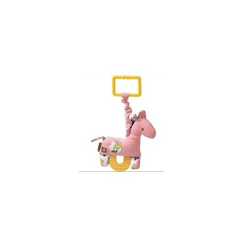 Gund Pink Giraffe Pulldown Teether