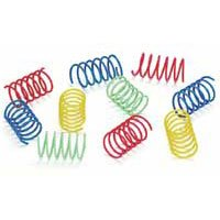 Colorful Springs Cat Toy - Wide - 10 pk.