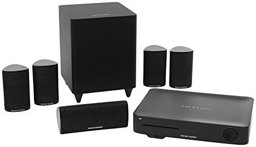 Harman Kardon BDS 635/230-B2 - Sistema de altavoces de sonido envolvente (WiFi, 200 W, 3D, 4K), color negro
