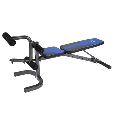 Pure Fitness Flatinclinedecline Weight Bench Blueblack Super Cheap Benches