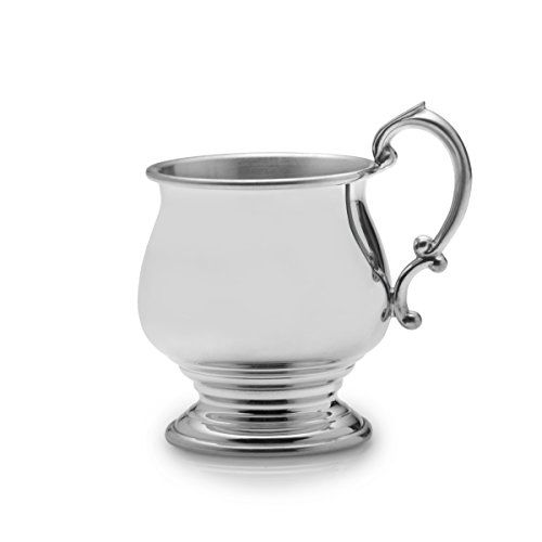 Empire Pedestal Pewter Baby Cup - 1