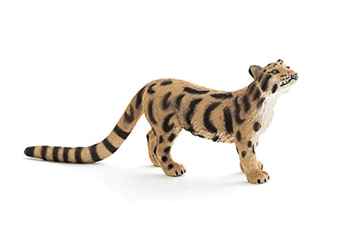 Mojo Fun 387172 Clouded Leopard - Realistic Wild Cat Toy Replica - New for 2013!