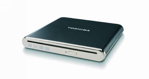 Toshiba Slot-Loading Portable SuperMulti Drive PA3845U-1DV2 (Black)