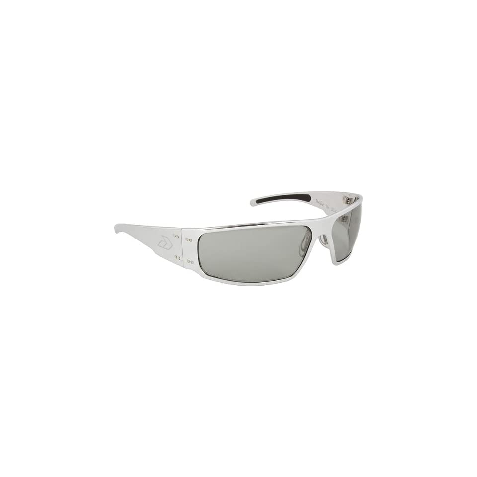 aee7300f52 Gatorz Magnum Adult Designer Sunglasses Eyewear Polished Chrome Grey  Transitional   One Size Fits
