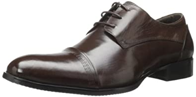 Kenneth Cole New York Men's Knight Life Oxford,Brown,7.5 M US