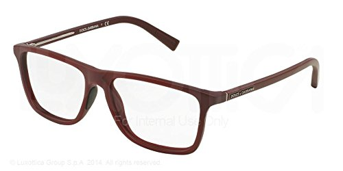 Dolce Gabbana & Men's 5012 Bordeaux Pinzhi-Cornice in plastica, 57 mm