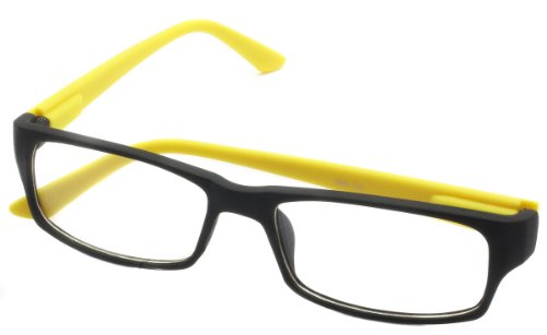 2er Pack Choppers 6608 Locs Sonnenbrille Fensterglas Brille Herren Damen weiß