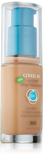 Covergirl Outlast Stay Fabulous 3-in-1 Foundation, Classic Tan 860