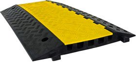 5 Channel Rubber Cable & Wire Protector Ramp