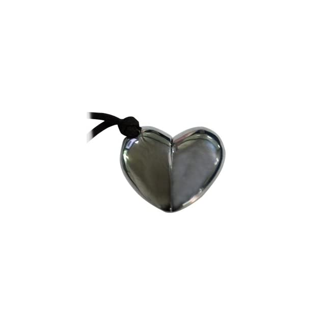 Black Heart Shaped 2GB Necklace USB Flash Memory Pen Drive