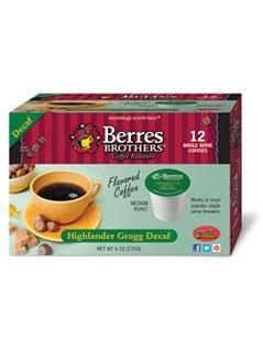 Berres Brothers Highlander Grogg Decaf Coffee Single Serve Kups