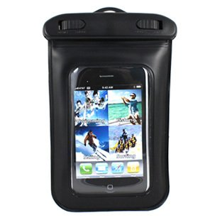 Wci Sealed Waterproof Armband Bag With Necklace Strap For Underwater Swimming And Sports - Protects Apple Ipod, Iphone, Mobile Phones And Most Mp3 Players - Includes Custom Waterproof Quality Earphones