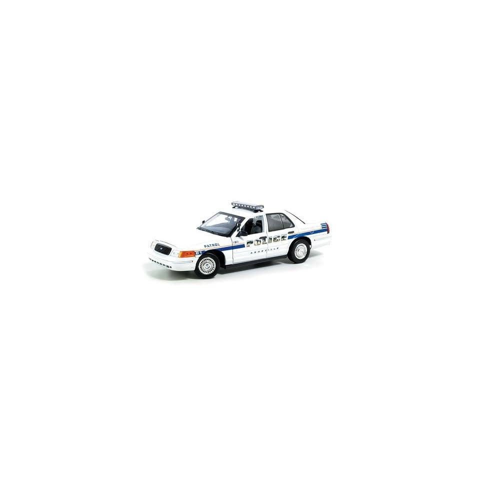 1/18th Scale Ford Crown Victoria Ashville, Nc Police Car