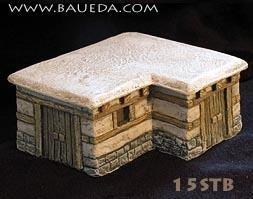 Urbis Architectural (15mm Ancient): Mycenaean Stable