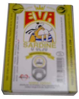 Eva Sardines In Vegetable Oil, 115G(4Oz)