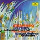 "Stravinsky: Symphony in E-flat, Op. 1 / ""Firebird"" Suite / Scherzo à la russe"