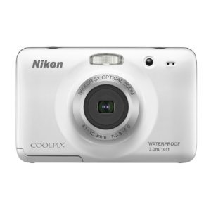 Nikon COOLPIX S30 10.1 MP Digital Camera with 3x Zoom Nikkor Glass Lens and 2.7-inch LCD