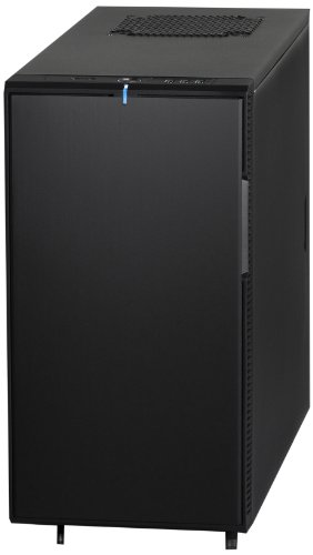 Fractal Design Define Mini Series Micro ATX Case - Black Pearl