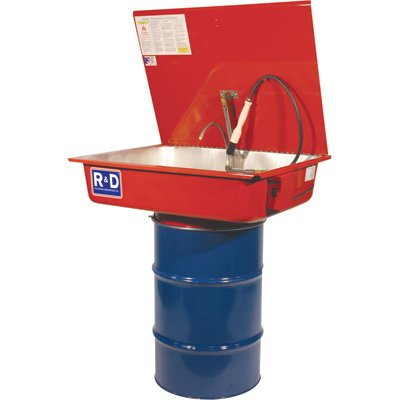 R & D Solvent Drum-Mounted Parts Washer 30-Gallon, Model# CM230