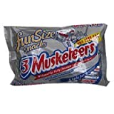 3 Musketeers Chocolate Bars Fun Size Bag 11 oz