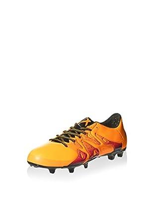 adidas Botas de fútbol X 15 3 Fg/Ag (Naranja)