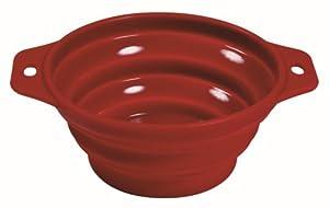 Trixie Travel Bowl, 0.5 L x 14 cm, Red / Blue
