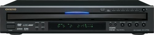 Onkyo DV-CP706B 6-Disc DVD Player (Black)