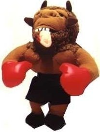 "Meanies Mike ""Bison"" Tyson (Infamous Series 1) Ear in Mouth Plush Toy - 1"