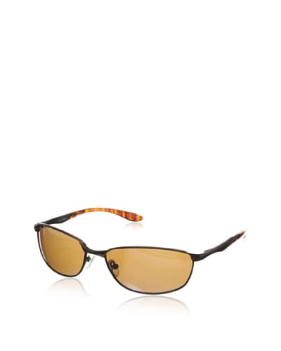 Columbia Men's Oval Sunglasses, Brown
