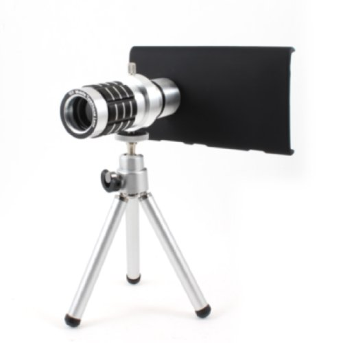 12X Zoom Lens Camera Telescope + Tripod + Case For Nokia Lumia 920