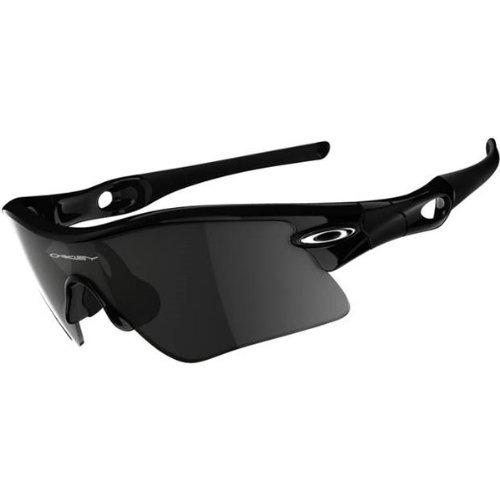 Oakley Radar Range Adult Sport Casual Sunglasses/Eyewear - Color: Jet Black/Grey, Size: One Size Fits All