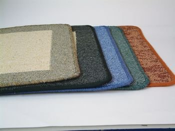 Caravan, Motorhome Rimini Washable Door Mat Light Brown.