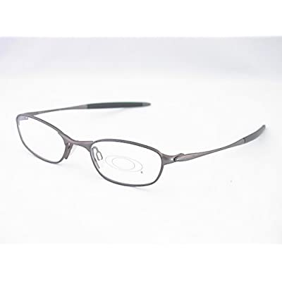 Eyeglasses Frame Size 48 : Amazon.com: Oakley O2 Eyeglasses Rx Frames Pewter Size: 48-19