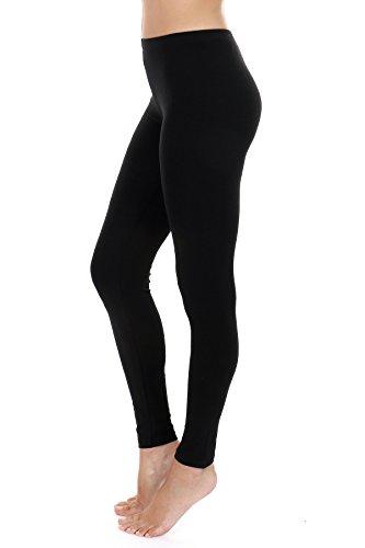 ambiance-apparel-super-soft-womens-basic-stretchy-cotton-ankle-length-leggings-medium-black