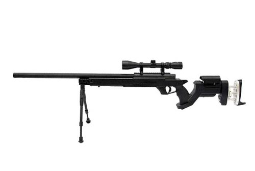 Well Mb05 G-22 Awm Aps-2 Airsoft Sniper Rifle W 3-9x40 Scope Bi-pod L96 Awp 500 Fps Bolt Action Airsoft Sniper Rifle by Well