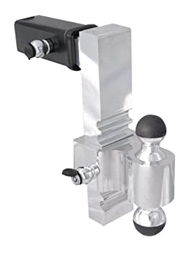 """Andersen Manufacturing, Inc. 3417 2"""" X 2 5/16"""" Greaseless Rapid Hitch with 10"""" Drop"""