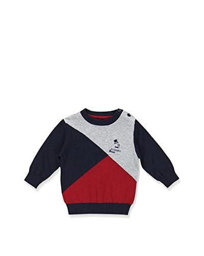 BRUMS Jersey Azul / Gris / Rojo